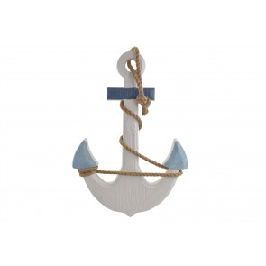 Gorgeous Shabby Chic Wall Art Wooden Nautical Anchor Hanging Decoration