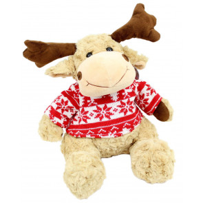 Ralph The Christmas Reindeer Soft Plush Toy 26cm