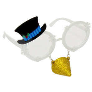 Novelty Christmas Party Fun Festive Fancy Dress Glasses - Snowman