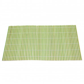 Bamboo Table Placemat | Eco Friendly Dining Table Mats | Plate Mat Settings - Green