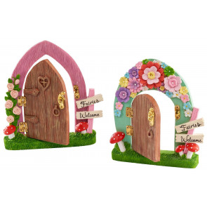Magical Secret Garden Fairy Elf Pixie Door - Design Varies - One Supplied