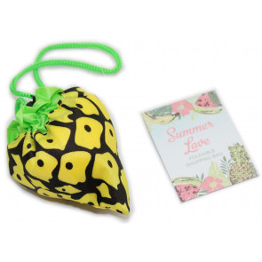 Summer Love Fruit Foldable Reusable Eco Friendly Shopper Shopping Bag 35Cm X 45Cm ~ Pineapple