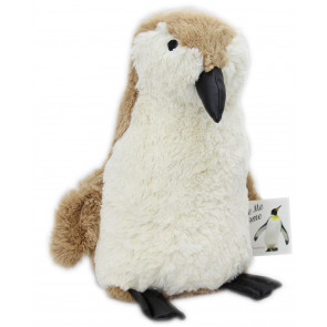 Take Me Home Plush Penguin Doorstop ~ Decorative Door Stop Brown