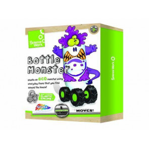 Grafix Science Worx Bottle Monster Kit ~ Make Your Own Monster