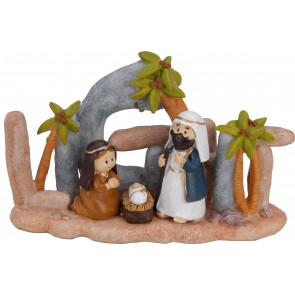Charming Nativity Scene Set With Led Light Christmas Ornament Decoration ~ Design Varies