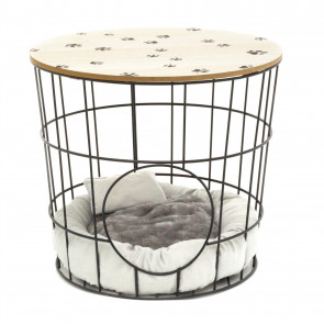 Pet House Cave Side Table | Coffee Table With Pet Bed | Living Room Side Tables | Pet Crate End Table