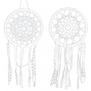 20CM Lace Cotton Dream Catcher ~ Design Vary