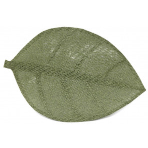 50x33cm Large Green Leaf Woven Kitchen Dining Table Mat Placemat