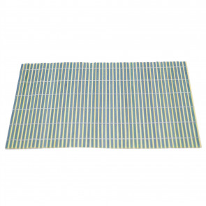 Bamboo Table Placemat | Eco Friendly Dining Table Mats | Plate Mat Settings - Blue