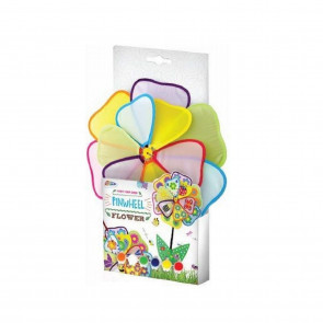 Grafix Paint Your Own Garden Pinwheel Flower Windmill Spinner