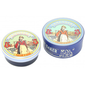 Ceramic Camembert And Brie Baker ~ Vintage French Design