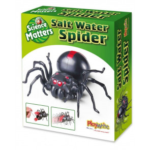 Build Your Own Salt Water Spider Robot Toy Science Kit