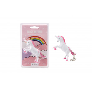 Mystical Unicorn Keyring LED Torch With Magical Sound