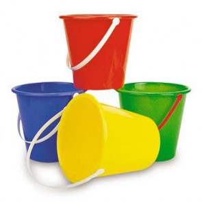 Round Plain Bucket Large