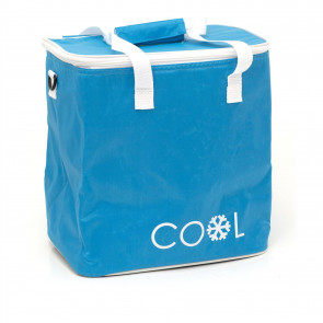 18L Cool Bag Insulated Picnic Bag | Portable Cooler Bag Lunch Tote Bag | Camping Cooler Shopping Bag - Colour Varies One Supplied
