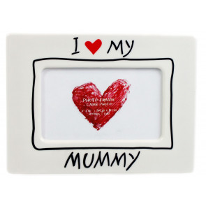 I Love My Mummy Photo Frame Ideal Mothering Sunday Mother's Day Gift 4 x 6 Picture Frame