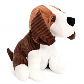 Charming Beagle Dog Doorstop - Novelty Animal Door Stop - Brown