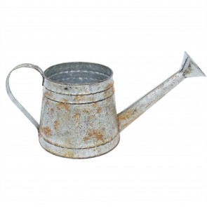 Charming Vintage Style Watering Can Flower Bulb Garden Planter Bucket Decoration