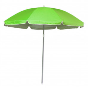 180cm Beach Umbrella Sun Shade UV50 Protection | Protective Beach Parasol | Holiday Travel Beach Umbrella - Green