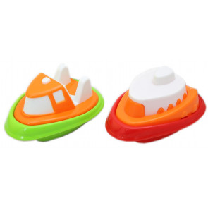Toddle Tots Bath Boat Plastic Bathtime Toy ~ Design May Vary