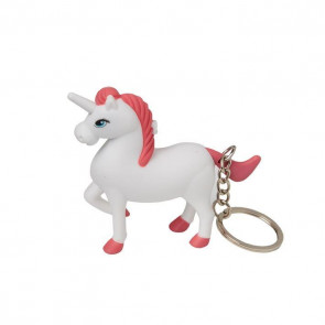 Light And Sound Unicorn Keyring Key Chain Party Bag Filler