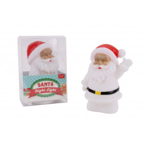 Father Christmas Santa Night Light Colour Change Led Lantern