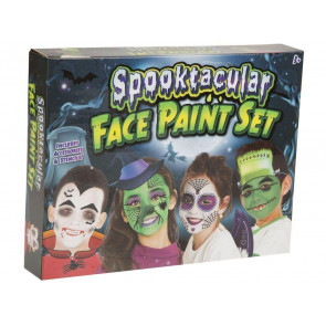 Grafix Spooktacular Halloween Face Paints Set Make Up Kit For Children