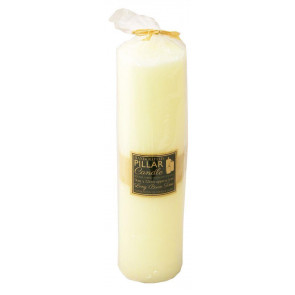 250 Hour Large Church Pillar Candle ~ Cream Votive Candle