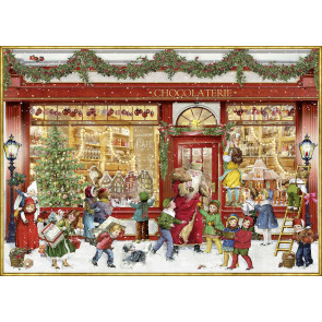 Deluxe Christmas Jigsaw Puzzle 1000 Piece - The Chocolate Shop