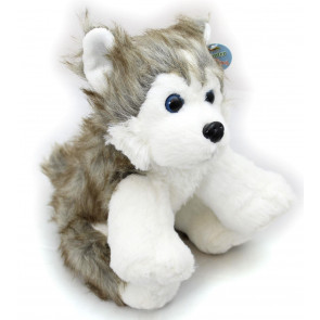Plush Hunter the Husky Dog Cuddly Soft Toy Teddy Bear