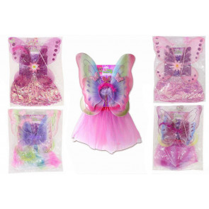 Childs Fairy Dress Up Costume Set ~ Designs Vary
