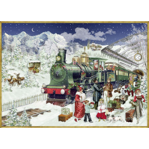 Deluxe Christmas Jigsaw Puzzle 1000 Piece - The Christmas Express