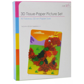 Create Your Own 3D Tissue Picture Set ~ Dinosaur