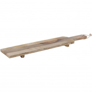Wooden Serving Platter Paddle Tray ~ Food Presentation Board