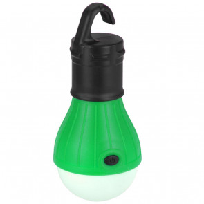 Battery Operated Lamp LED Light Bulb | Camping Lantern Garden Lighting | Tent Hanging Lanterns - Colour Varies One Supplied