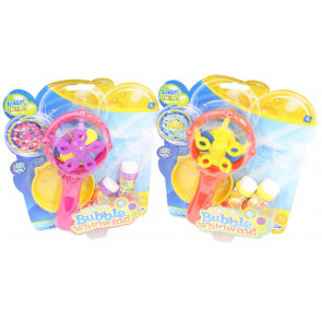 Bubble Factory LED Light Up Bubble Whirlwind Wand Toy ~ Colour Varies
