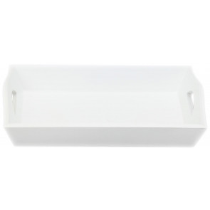Small White Wooden Rustic Tray
