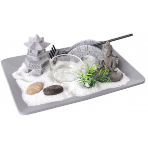 Buddha Zen Garden Candle Holder ~ Novelty Tealight Candle Holder