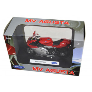 Welly Diecast Officially Licenced 1:18 Scale Motorbike Model ~ MV Augusta F4S