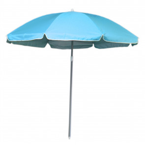180cm Beach Umbrella Sun Shade UV50 Protection | Protective Beach Parasol | Holiday Travel Beach Umbrella - Blue