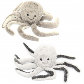 Adorable Fluffy Octopus Fabric Animal Door Stop ~ Octopus Doorstop Colour Varies