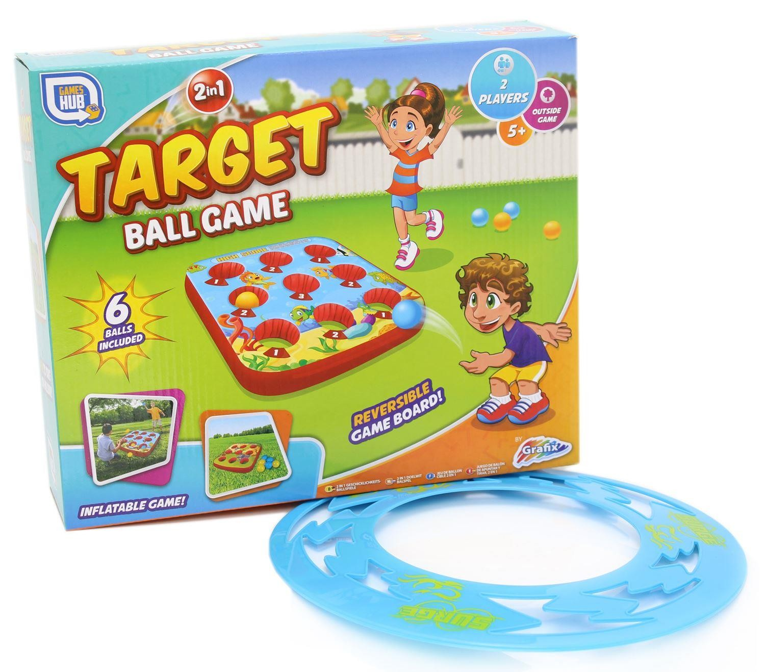2 in 1 Target Ball Game