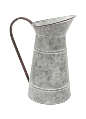 Metal Jug Planter